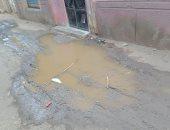 مياه الغربية تفحص شكاوى أهالى قرية كفر المنشى بطنطا بسبب طفح الصرف الصحى