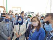 افتتاح محطة المعالجة الثلاثية ومزرعة بسوهاج بتكلفة 79 مليون جنيه.. صور