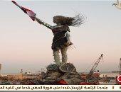 فتاة لبنانية تصنع تمثالا لتخليد ضحايا مرفأ بيروت من مخلفات الانفجار