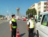 محافظ الشرقية : تغريم 56 سائقا لعدم الإلتزام بإرتداء الكمامة الواقية