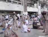 إجراءات وقائية صارمة خلال أول خطبة جمعة فى المسجد الحرام .. فيديو وصور