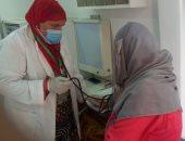 الكشف وتوفير العلاج لأكثر من 1400 مواطن بقرية العلالمة في بنى سويف.. صور