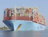 قناة السويس تسجل عبورا تاريخيا لأكبر سفينة حاويات بالعالم بحمولة 214 ألف طن