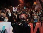 احتجاجات حاشدة فى بولندا ضد حظر شبه كامل على الإجهاض.. صور
