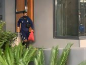 بيراميدز يصل فندق إقامته بالرباط استعدادا لنهائى الكونفدرالية.. فيديو وصور