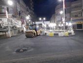 """رفع كفاءة الشوارع والميادين وإنطلاق مبادرة """"مصر جميلة"""" لإعادة المظهر الحضارى بأسيوط"""