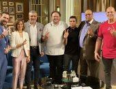 """الليلة نجوم فيلم """"زنزانة 7"""" مع عمرو الليثى فى واحد من الناس على الحياة"""