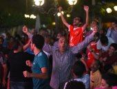 شاهد احتفالات الأهلوية بعد التأهل لنهائى دوري أبطال أفريقيا على حساب الوداد