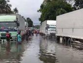 غرق شوارع وبيوت بالفلبين بعد تعرض مدينة لفيضانات غامرة.. فيديو