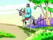 الحمار فى التراث الدينى.. بعث مع العزير ودخل عليه المسيح إلى القدس