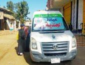 1202 مواطن من عرب دوريش بالشرقية يستفيدون من خدمات قافلة طبية مجانية
