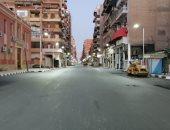 محافظة بورسعيد تعلن رصف شارع الثلاثينى أحد أكبر شوارع المدينة .. صور