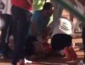 لحظة وفاة طفل نادي الرواد لتوقف قلبه بعد تمرين كرة السرعة في الشرقية.. فيديو