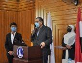 رئيس جامعة كفر الشيخ ينصح الطلاب بتعزيز الانتماء للوطن والتحلى بالأخلاق..صور