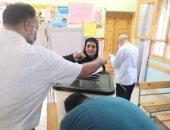 خبراء المفرقعات يتسلمون اللجان لإجراء عمليات التمشيط قبل ثانى أيام التصويت
