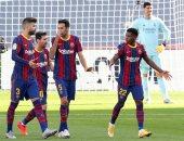 تعادل مثير بين برشلونة وريال مدريد فى شوط الكلاسيكو الأول.. فيديو