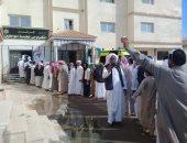 إقبال كبير من المواطنين على التصويت فى لجان محافظة مطروح.. صور