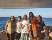 نجيب ساويرس فى رحلة بحرية مع على فضل وسعيد تغماوى: نظهر لهم جمال البحر الأحمر