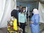 محافظ دمياط تتفقد المستشفى التخصصى وتشدد على تطبيق الإجراءات الاحترازية