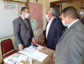 السكرتير العام المساعد ببنى سويف يتابع سير الانتخابات بالواسطى وناصر وإهناسيا