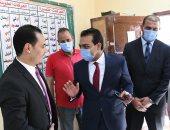 نائب محافظ قنا يتفقد لجان انتخابات مجلس النواب