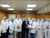 مستشفى المبرة بالزقازيق يحصد المركز الثانى فى مبادرة علاج الأمراض المزمنة.. فيديو