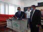 محافظ الإسكندرية يتفقد اللجان العامة لمتابعة عملية انتهاء انتخابات البرلمان