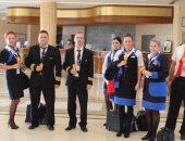 وصول أول رحلة طيران تشيكية تقل 178 سائحا مطار مرسى علم.. صور