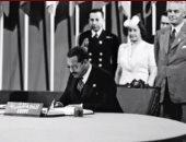 """الخارجية تحتفل بيوم الأمم المتحدة تحت شعار """"75 عاما من التعاون"""".. فيديوجراف"""