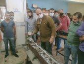 تدريب العاملين على أساسيات معالجة مياه الشرب وتطهير شبكات الصرف الصحى فى المنوفية