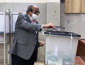 وزير الداخلية الأسبق من أمام صندوق الانتخابات: مشهد مشرف لمصر القادرة على مواجهة كل المؤامرات