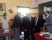 محافظ الإسكندرية يتفقد لجان الجمرك لمتابعة التصويت بانتخابات مجلس النواب.. صور