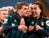 أهداف مباراة أستون فيلا ضد ليدز يونايتد 0 - 3 فى الدوري الإنجليزي