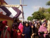 """""""عمليات القومى للمرأة"""" تؤكد تزايد الإقبال فى لجان الانتخابات بقرى بنى سويف"""