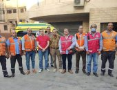 167 سيارة إسعاف تنتشر بمحيط لجان انتخابات مجلس النواب فى الجيزة.. صور