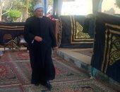 الشيخ خالد الجندى يدلى بصوته في الانتخابات البرلمانية بمدينة الشيخ زايد