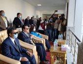 وزير التعليم العالى يفتتح عددا من المشروعات بجامعة دمياط.. صور