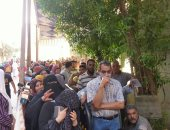إقبال كثيف من الناخبين على اللجان الانتخابية فى الجيزة عقب انتهاء الراحة