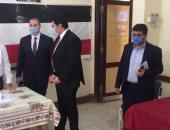نائب محافظ بنى سويف يتفقد عددا من اللجان فى ثاني أيام انتخابات مجلس النواب