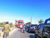 محافظ الفيوم يضبط سيارة تسير عكس الاتجاه أثناء جولته بلجان الانتخابات