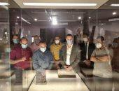 وزير الآثار ومحافظ كفر الشيخ يتفقدان المتحف القومى الجديد تمهيدا لافتتاحه