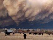 صور.. تجدد حرائق الغابات فى كولورادو الأمريكية والدخان يغطى السماء