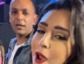 أيتن عامر ترقص مع زوجها فى حفل محمود العسيلى بمهرجان الجونة.. فيديو