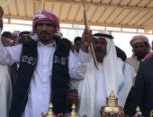 تكريم الفائزين بمهرجان نويبع للهجن بجنوب سيناء.. صور