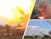 فرنسا وروسيا يطالبان بضرورة وقف إطلاق النار فى قره باغ