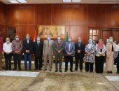 تعيين 11 من مديرى العموم الجدد لشغل مناصب الإدارات العامة بجامعة المنوفية