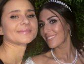 نيللى كريم تحتفل بزفاف إحدى صديقاتها بعد غيابها عن افتتاح مهرجان الجونة