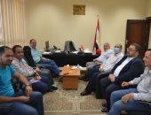 رئيس قطاع القناطر فى وزارة الرى يزور قناطر أسيوط الجديدة