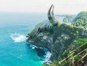 مزج الواقعية مع الخيال..فنان أمريكى يضيف لمساته للوحات من الطبيعة ..ألبوم صور