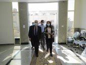 محافظ دمياط تتفقد مشروع مكتبة مصر العامة بعزبة البرج تمهيدا لافتتاحه بنوفمبر